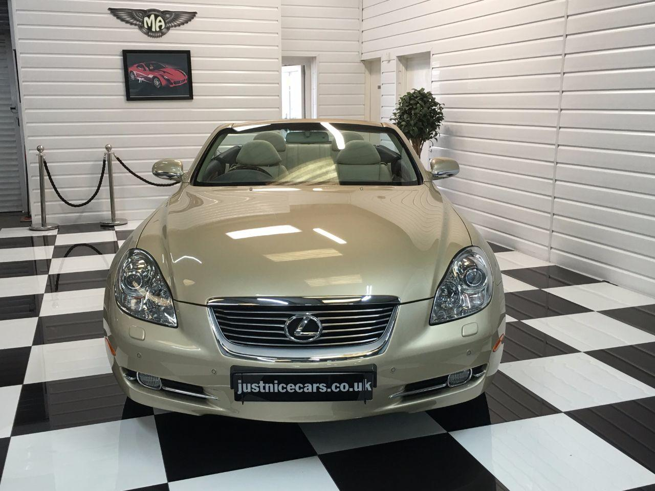 Lexus SC 430 4.3 V8 Auto Convertible Petrol Amberley Gold Pearl