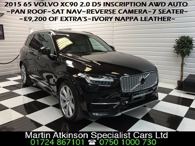 Volvo XC90 2.0 D5 Inscription 5dr AWD Geartronic Estate Diesel Maple Brown Pearl