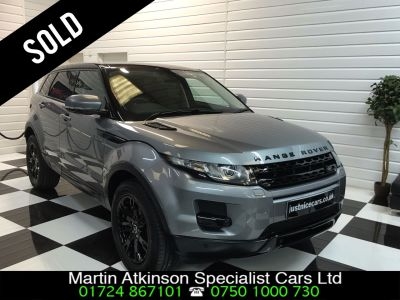 Land Rover Range Rover Evoque 2.2 SD4 Pure 5dr [Tech Pack] Estate Diesel Orkney GreyLand Rover Range Rover Evoque 2.2 SD4 Pure 5dr [Tech Pack] Estate Diesel Orkney Grey at Martin Atkinson Cars Scunthorpe