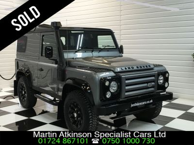 Land Rover Defender X-Tech LE Hard Top  2.2 TDCi Four Wheel Drive Diesel GreyLand Rover Defender X-Tech LE Hard Top  2.2 TDCi Four Wheel Drive Diesel Grey at Martin Atkinson Cars Scunthorpe