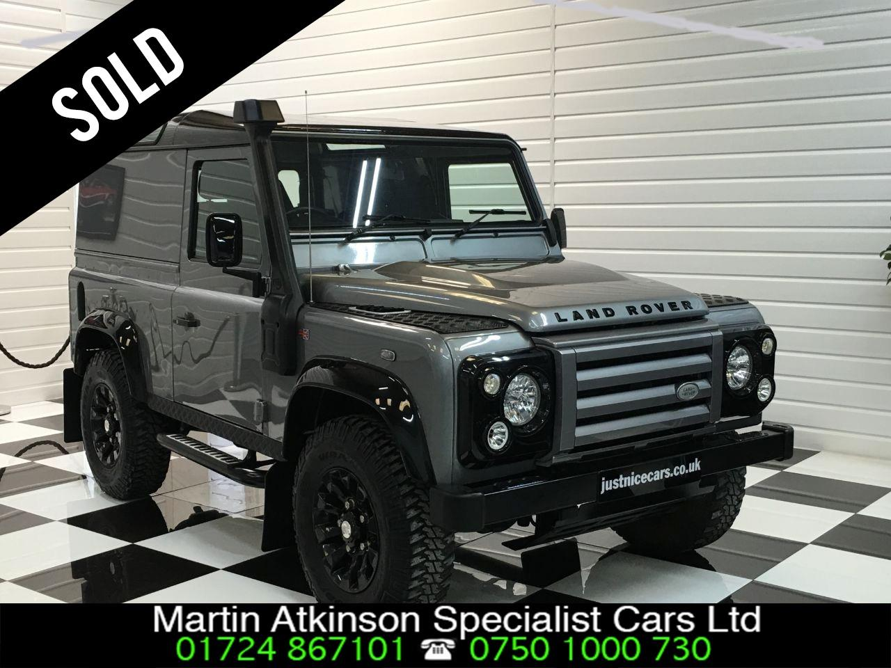 Land Rover Defender X-Tech LE Hard Top  2.2 TDCi Four Wheel Drive Diesel Grey