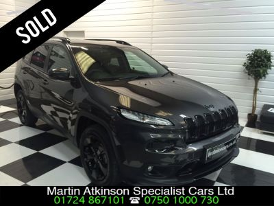 Jeep Cherokee 2.2 Multijet 200 Night Eagle 5dr Auto Estate Diesel GreyJeep Cherokee 2.2 Multijet 200 Night Eagle 5dr Auto Estate Diesel Grey at Martin Atkinson Cars Scunthorpe