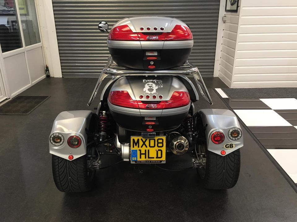 Boom FUN 500 BOOM 500 ULTIMATE Three Wheeler Petrol Silver