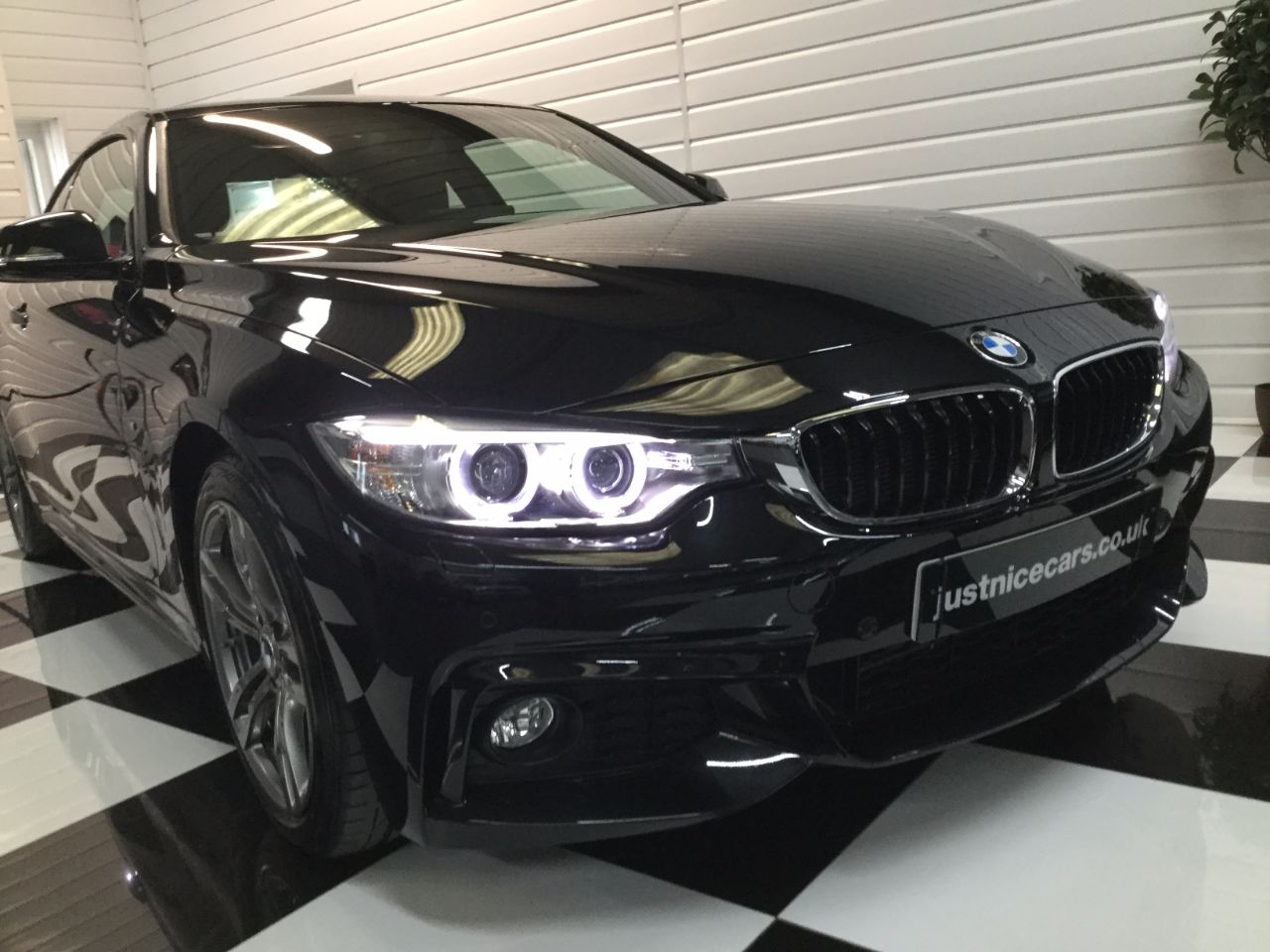 BMW 4 Series 2.0 420d M Sport 2dr Professional Media Coupe Diesel Black