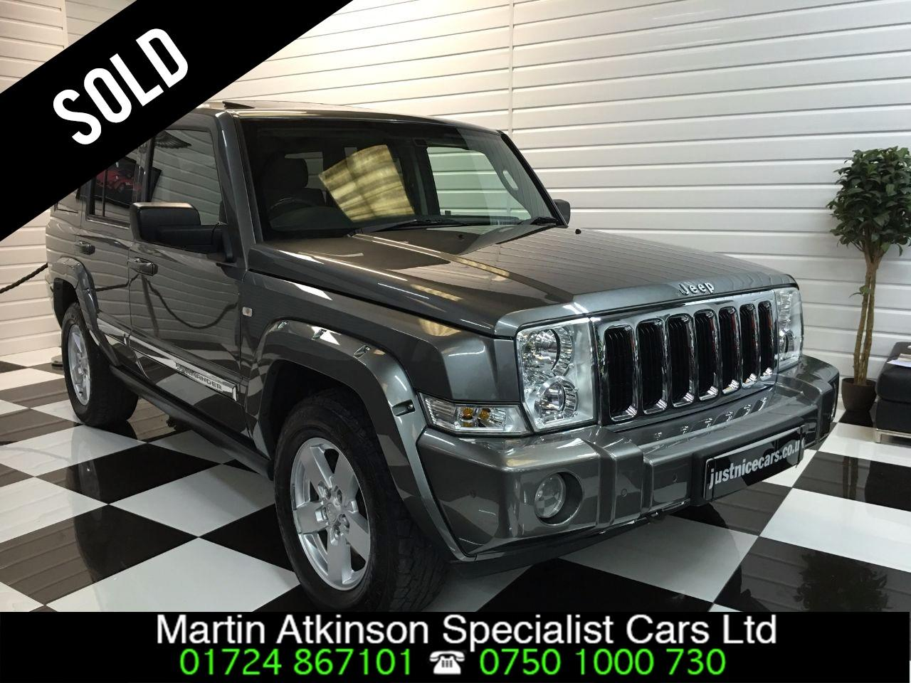 Jeep Commander 5.7 V8 Limited 5dr Automatic 7 Seater Estate Petrol Grey Metallic
