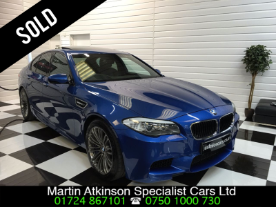 BMW M5 4.4 M5 4dr DCT Saloon Petrol Monte Carlo BlueBMW M5 4.4 M5 4dr DCT Saloon Petrol Monte Carlo Blue at Martin Atkinson Cars Scunthorpe