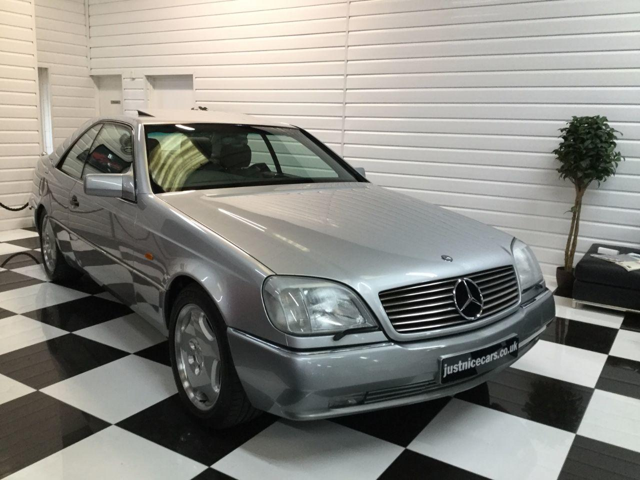 Mercedes-Benz S Class 6.0 S600 V12 COUPE Coupe Petrol Brilliant Silver