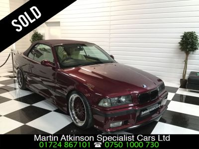 BMW 3 Series 2.8 328i 2dr Auto Convertible Petrol Romatic RedBMW 3 Series 2.8 328i 2dr Auto Convertible Petrol Romatic Red at Martin Atkinson Cars Scunthorpe