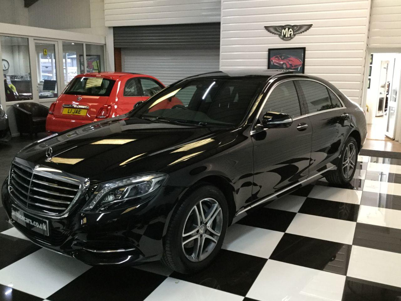 Mercedes-Benz S Class 3.5 S400L Hybrid SE Line 4dr Auto (Executive Rear Seat Pack) Saloon Hybrid Obsidian Black Metallic