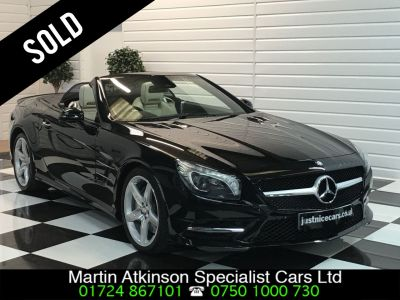 Mercedes-Benz SL Class 3.0 SL 400 AMG Sport 2dr Auto 333BHP Convertible Petrol BlackMercedes-Benz SL Class 3.0 SL 400 AMG Sport 2dr Auto 333BHP Convertible Petrol Black at Martin Atkinson Cars Scunthorpe
