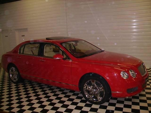 Bentley Continental Flying Spur 6.0 W12 Saloon Petrol Red