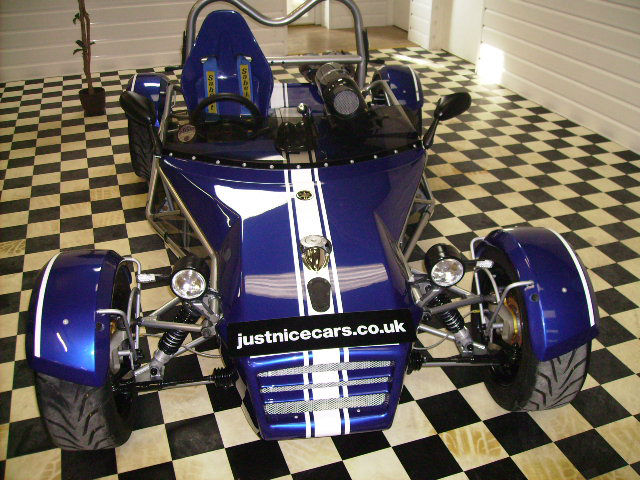 AC 16 1.0 MEV ATOMIC R1 Convertible Petrol Racing Blue Pearl