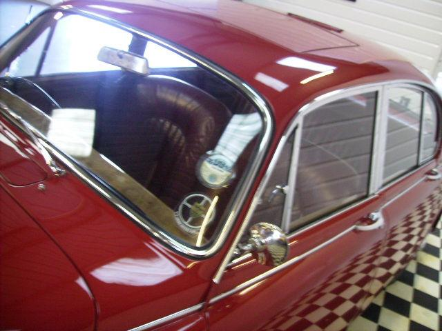 Jaguar Mark II 3.8 mod with Power Steering~Superb Car~ Saloon Petrol Tartan Red