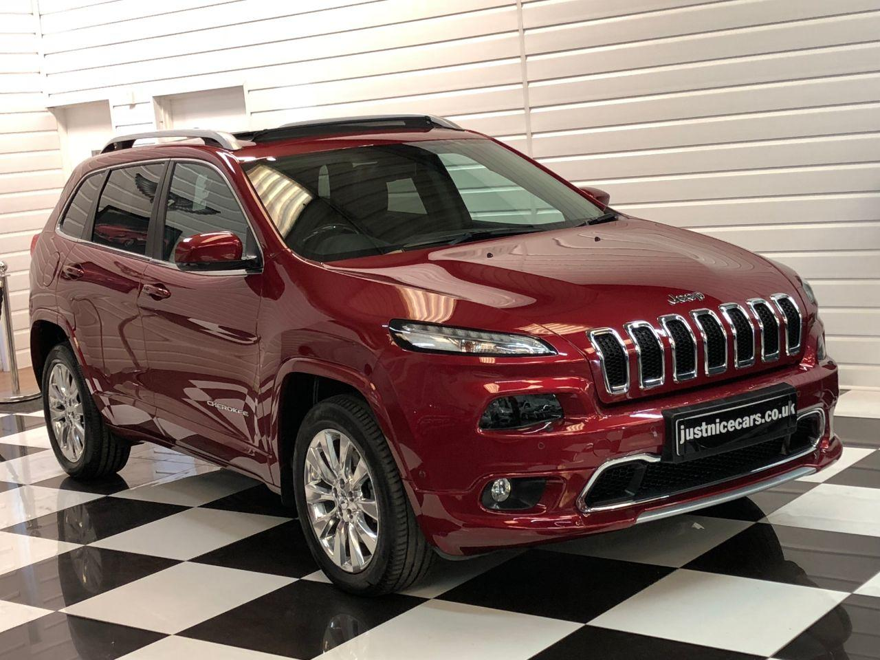 Jeep Cherokee 2.2 Multijet 200BHP Overland 5dr Auto Estate Diesel Deep Cherry Red Metallic