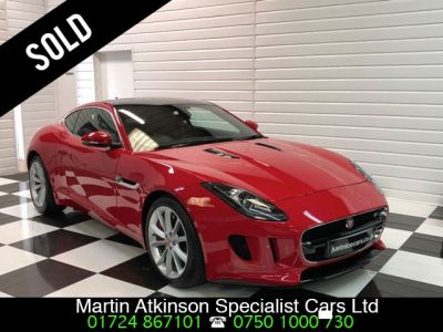 Jaguar F-type 3.0 F-TYPE S V6 AUTO Coupe Petrol Salsa RedJaguar F-type 3.0 F-TYPE S V6 AUTO Coupe Petrol Salsa Red at Martin Atkinson Cars Scunthorpe