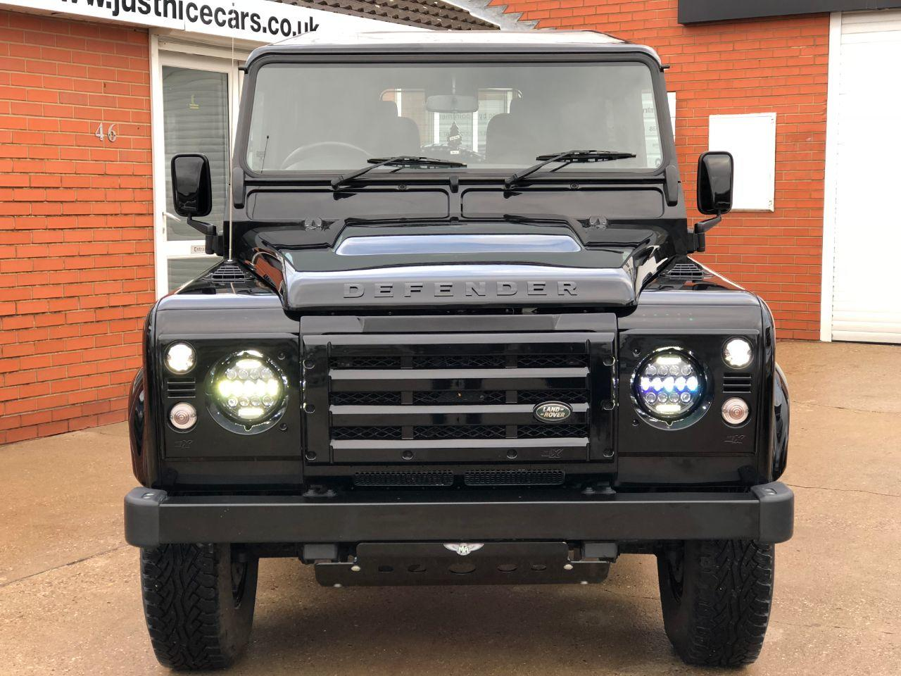 Land Rover Defender 90 XS Station Wagon 2.2 TDCi 4 Seater Four Wheel Drive Diesel Santorini Black