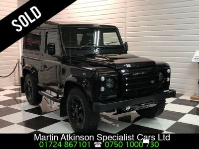 Land Rover Defender 90 XS Station Wagon 2.2 TDCi 4 Seater Four Wheel Drive Diesel Santorini BlackLand Rover Defender 90 XS Station Wagon 2.2 TDCi 4 Seater Four Wheel Drive Diesel Santorini Black at Martin Atkinson Cars Scunthorpe