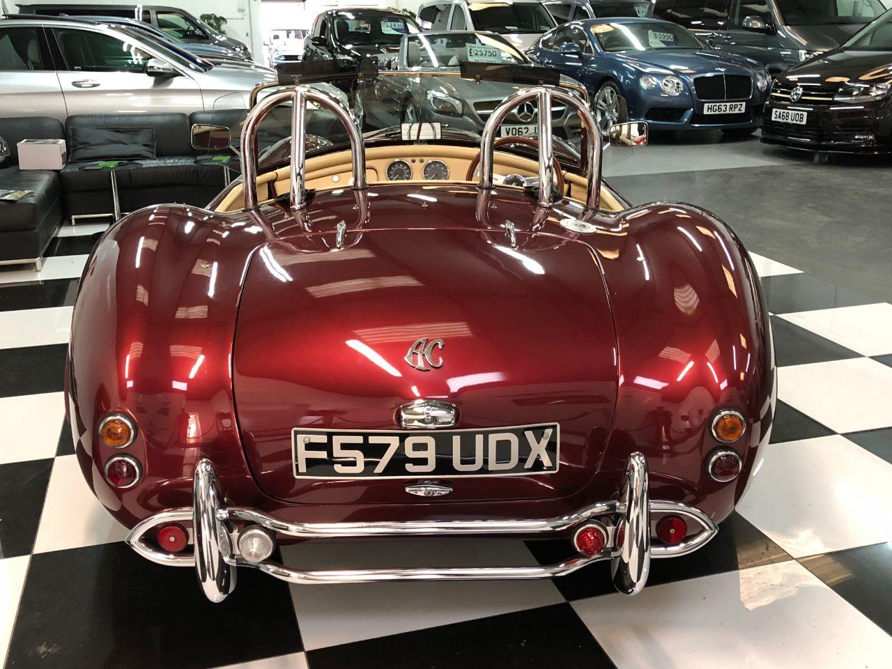 AC Cobra Dax 6.3 V8 Manual Sports Petrol Ruby Red