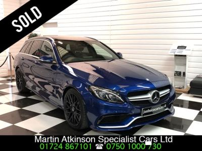 Mercedes-Benz C Class C63 Premium 4.0 V8  5dr Auto Estate Petrol Brillant BlueMercedes-Benz C Class C63 Premium 4.0 V8  5dr Auto Estate Petrol Brillant Blue at Martin Atkinson Cars Scunthorpe