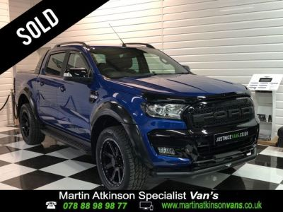Ford Ranger Pick Up Double Cab Wildtrak X 3.2 TDCi 200BHP Auto Pick Up Diesel Performance BlueFord Ranger Pick Up Double Cab Wildtrak X 3.2 TDCi 200BHP Auto Pick Up Diesel Performance Blue at Martin Atkinson Cars Scunthorpe