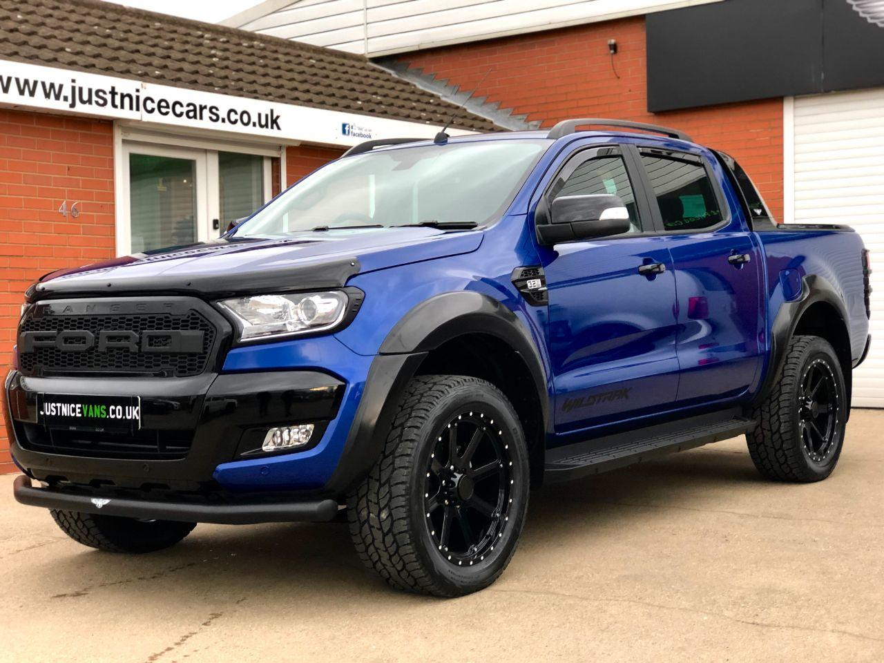 Ford Ranger Pick Up Double Cab Wildtrak X 3.2 TDCi 200BHP Auto Pick Up Diesel Performance Blue