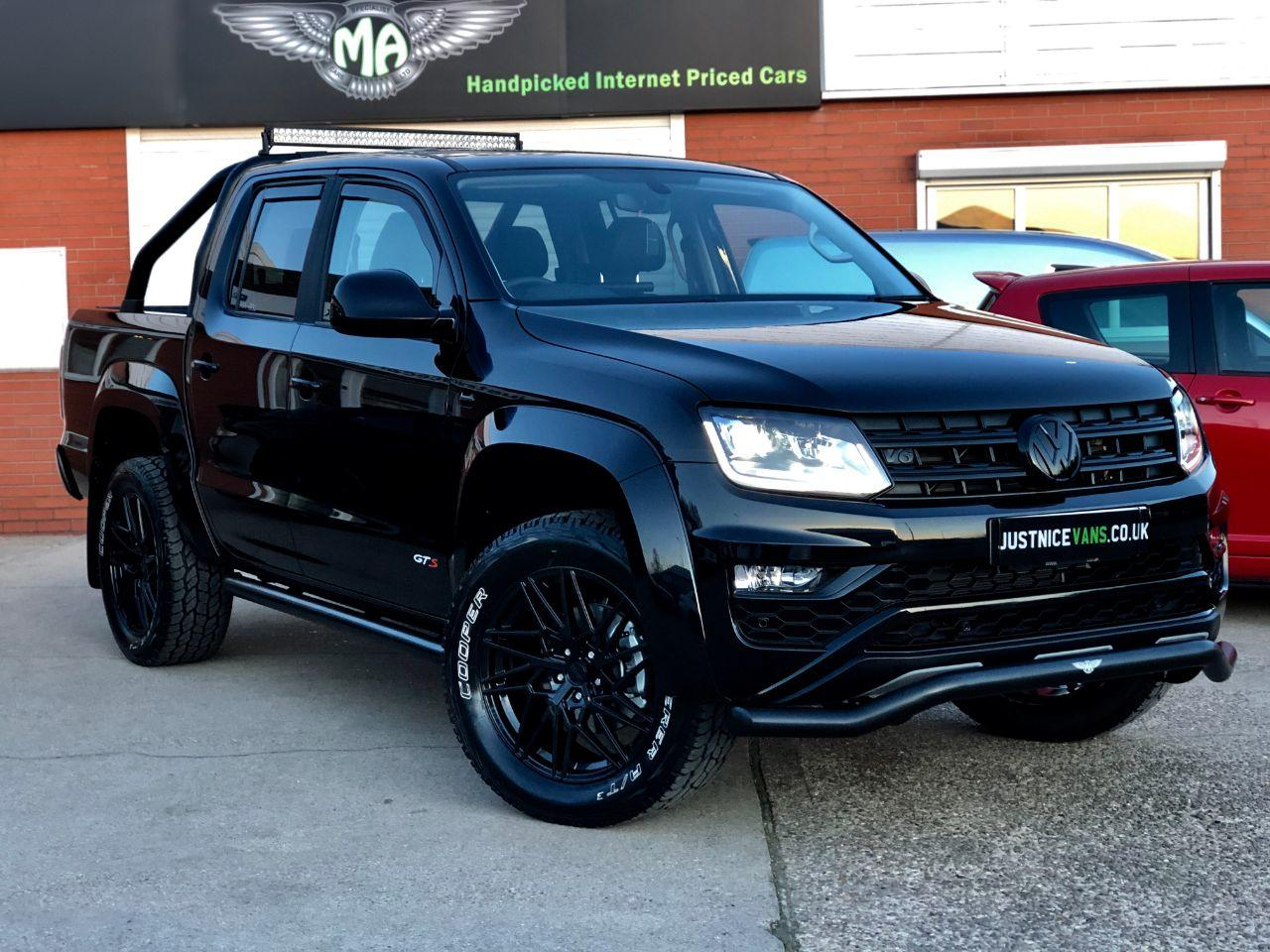 Volkswagen Amarok 'GTS PACK' Pick Up Highline 3.0 V6 TDI 258 BMT 4M Auto Pick Up Diesel Deep Black Pearl