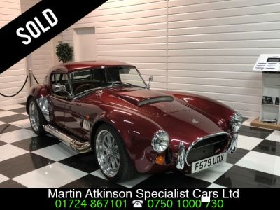 AC Cobra Dax 6.3 V8 Manual Sports Petrol Ruby RedAC Cobra Dax 6.3 V8 Manual Sports Petrol Ruby Red at Martin Atkinson Cars Scunthorpe