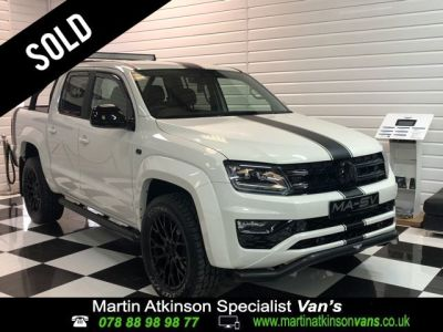 Volkswagen Amarok 'GTS PACK' Pick Up Highline 3.0 V6 TDI 224 BMT 4M Auto Pick Up Diesel Candy WhiteVolkswagen Amarok 'GTS PACK' Pick Up Highline 3.0 V6 TDI 224 BMT 4M Auto Pick Up Diesel Candy White at Martin Atkinson Cars Scunthorpe