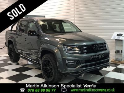 Volkswagen Amarok 3.0 V6 TDi Highline GTS Edition 224 Auto Pick Up Diesel Indium Grey MetallicVolkswagen Amarok 3.0 V6 TDi Highline GTS Edition 224 Auto Pick Up Diesel Indium Grey Metallic at Martin Atkinson Cars Scunthorpe