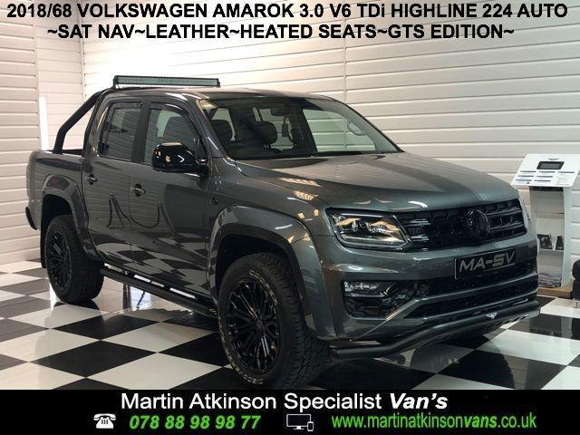 Volkswagen Amarok 'GTS PACK' Pick Up Highline 3.0 V6 TDI 224 BMT 4M Auto Pick Up Diesel Indium Grey