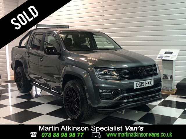 Volkswagen Amarok 19/19 Amarok 'GTS PACK' Pick Up Highline 3.0 V6 TDI 204 BMT 4M Auto Pick Up Diesel Indium Grey