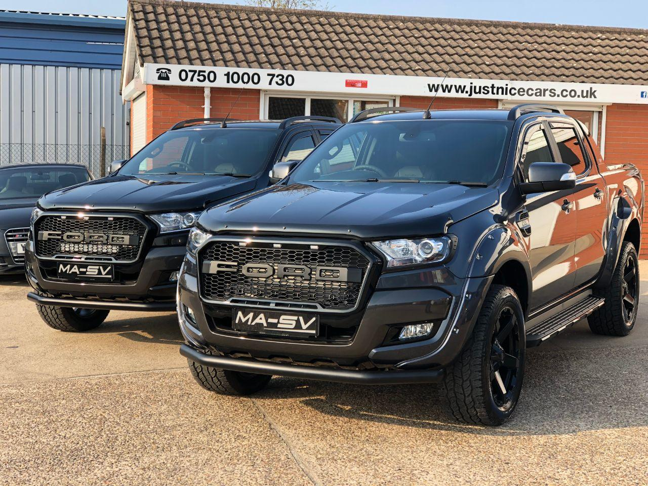 Ford Ranger 19/19 Wildtrak Auto 3.2 TDCI MA-SV Edition Pick Up Diesel Grey