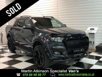 Ford Ranger 19/19 Wildtrak Auto 3.2 TDCI MA-SV Edition Pick Up Diesel GreyFord Ranger 19/19 Wildtrak Auto 3.2 TDCI MA-SV Edition Pick Up Diesel Grey at Martin Atkinson Cars Scunthorpe