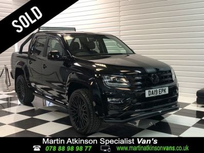 Volkswagen Amarok GTS Styling Pack Pick Up Highline 3.0 V6 TDI 258PS BMT 4M Auto Pick Up Diesel Deep BlackVolkswagen Amarok GTS Styling Pack Pick Up Highline 3.0 V6 TDI 258PS BMT 4M Auto Pick Up Diesel Deep Black at Martin Atkinson Cars Scunthorpe