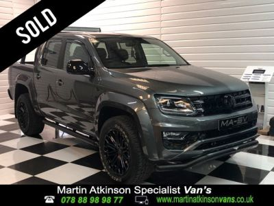 Volkswagen Amarok 'GTS PACK' Pick Up Highline 3.0 V6 TDI 224 BMT 4M Auto Pick Up Diesel Indium GreyVolkswagen Amarok 'GTS PACK' Pick Up Highline 3.0 V6 TDI 224 BMT 4M Auto Pick Up Diesel Indium Grey at Martin Atkinson Cars Scunthorpe