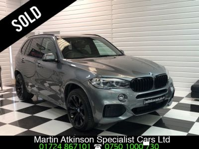BMW X5 3.0 xDrive40d M Sport 5dr Auto Estate Diesel Space GreyBMW X5 3.0 xDrive40d M Sport 5dr Auto Estate Diesel Space Grey at Martin Atkinson Cars Scunthorpe