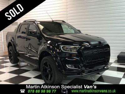 Ford Ranger Wildtrak Auto 3.2 TDCI MA-SV Black Edition Pick Up Diesel BlackFord Ranger Wildtrak Auto 3.2 TDCI MA-SV Black Edition Pick Up Diesel Black at Martin Atkinson Cars Scunthorpe