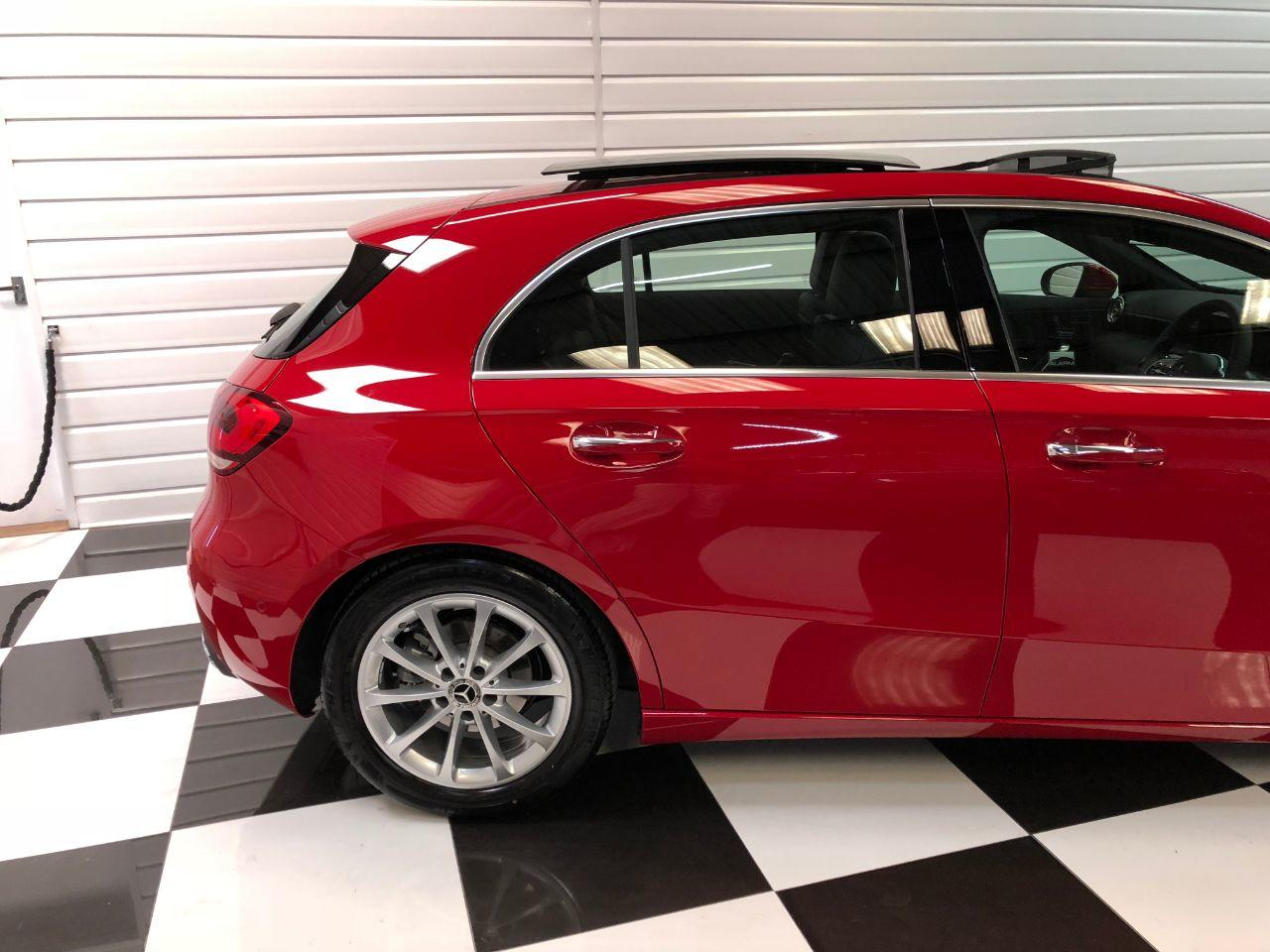 Mercedes-Benz A Class 1.3 A200 Sport Premium Plus 5dr Automatic Hatchback Petrol Jupiter Red