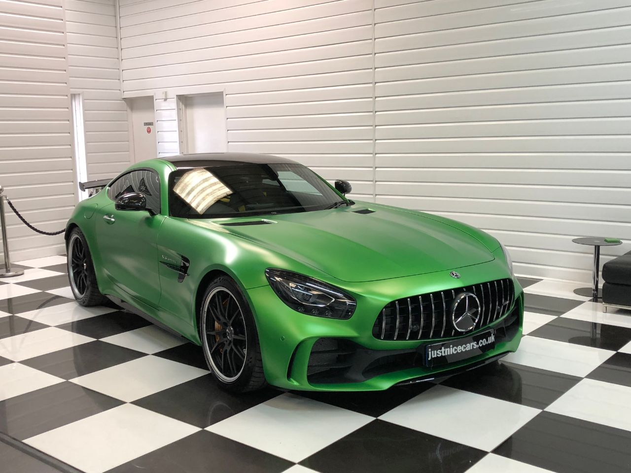 Mercedes-Benz AMG GT 4.0 GT R Premium 2dr Auto Massive Specification Coupe Petrol Amg Hell Green Magno