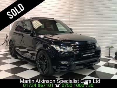 Land Rover Range Rover Sport 3.0 SDV6 HSE Dynamic 7 Seater 306BHP Automatic Estate Diesel Marina Black Blue MetallicLand Rover Range Rover Sport 3.0 SDV6 HSE Dynamic 7 Seater 306BHP Automatic Estate Diesel Marina Black Blue Metallic at Martin Atkinson Cars Scunthorpe