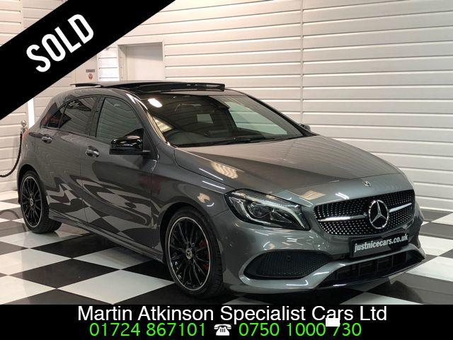 Mercedes-Benz A Class 2.1 A200d AMG Line Premium Plus 5dr Automatic Hatchback Diesel Mountain Grey Metallic