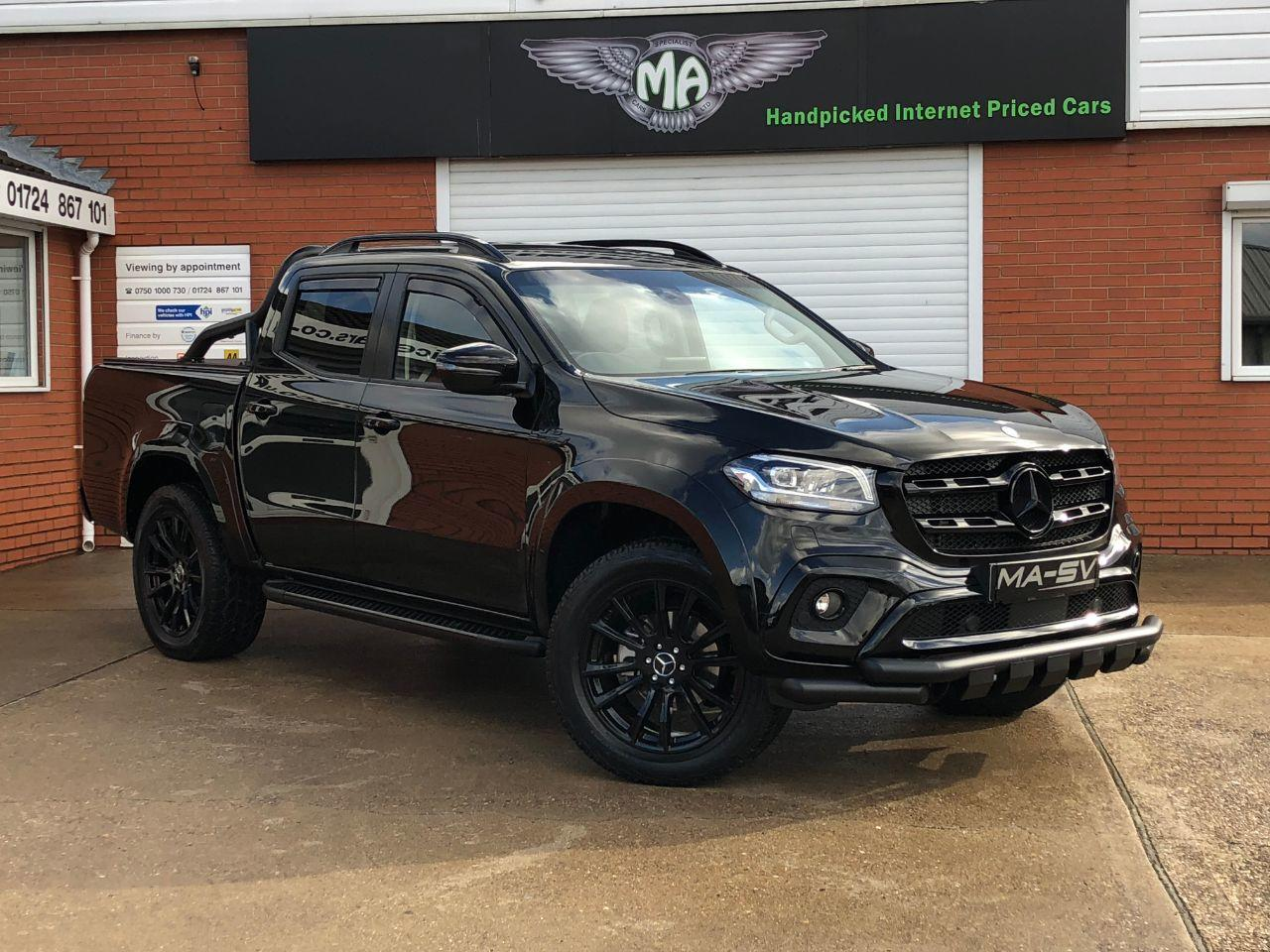 Mercedes-benz X Class X350 3.0 V6 4Matic Power Automatic Double Cab Pick Up Diesel Kabana Black