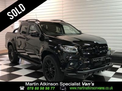 Mercedes-benz X Class X350 3.0 V6 4Matic Power Automatic Double Cab Pick Up Diesel Kabana BlackMercedes-benz X Class X350 3.0 V6 4Matic Power Automatic Double Cab Pick Up Diesel Kabana Black at Martin Atkinson Cars Scunthorpe
