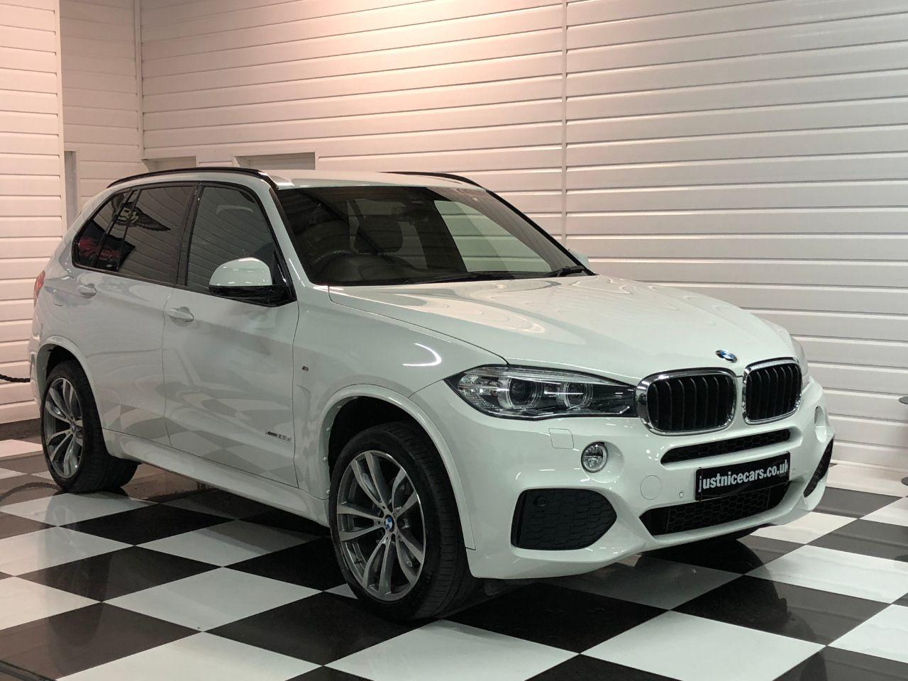 BMW X5 3.0 xDrive30d M Sport 7 Seater Automatic Estate Diesel Alpine White