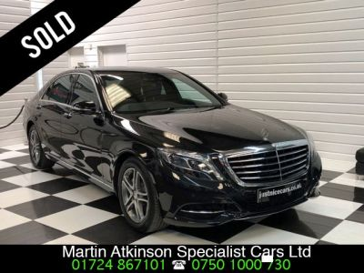 Mercedes-Benz S Class S400hL 3.5 V6 Hybrid SE Line 4dr Auto [Executive] Saloon Petrol / Electric Hybrid Obsidian BlackMercedes-Benz S Class S400hL 3.5 V6 Hybrid SE Line 4dr Auto [Executive] Saloon Petrol / Electric Hybrid Obsidian Black at Martin Atkinson Cars Scunthorpe