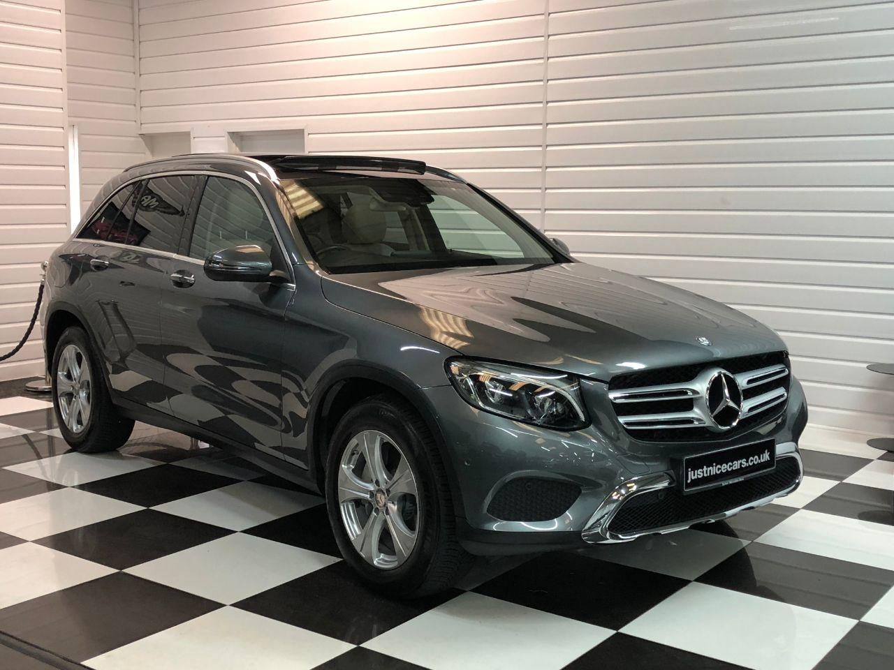Mercedes-Benz GLC 2.1 GLC 250d 4Matic Sport Premium Plus 5dr 9G-Tronic Estate Diesel Selenite Grey Metallic