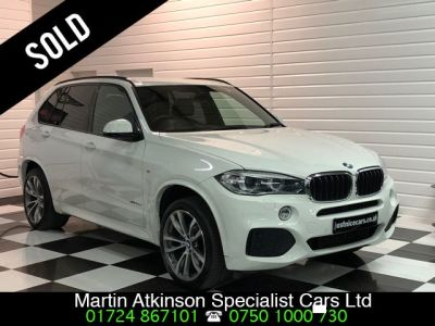 BMW X5 3.0 xDrive30d M Sport 7 Seater Automatic Estate Diesel Alpine WhiteBMW X5 3.0 xDrive30d M Sport 7 Seater Automatic Estate Diesel Alpine White at Martin Atkinson Cars Scunthorpe
